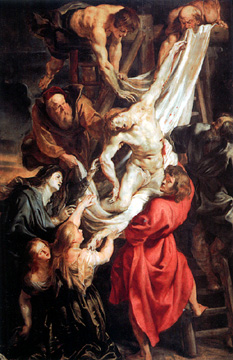 Descent From The Cross by Rubens