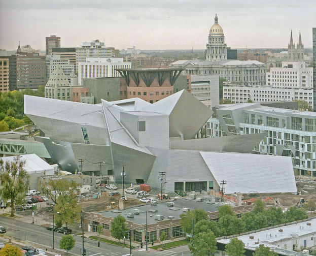 Denver Museum addition by Libeskind