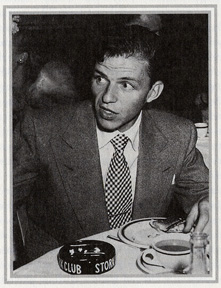 Frank Sinatra at the Stork Club