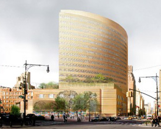 Rendering of towr planned to replace O'Toole Building