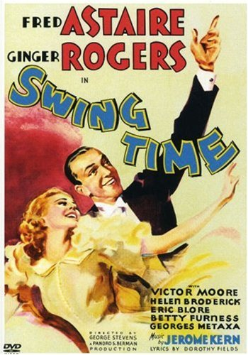 Film Classic Swing Time With Fred Astaire And Ginger Rogers