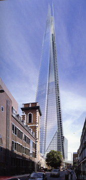 London Bridge Tower, London, by Renzo Piano
