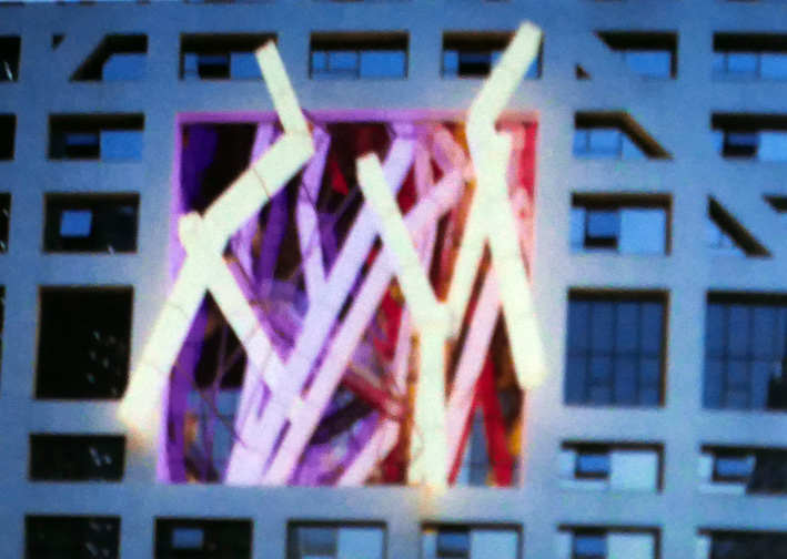 Facade Projection at Sliced Porosity