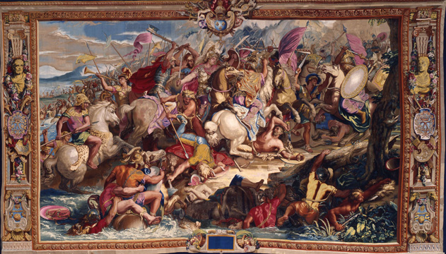 """The Battle of Granicus"" design by Charles Le Brun"