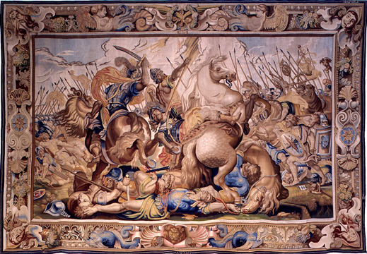 """The Battle of Veseris and the Death of Decius Mus"" by Rubens"