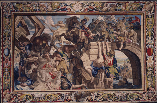 """The Battle of the Milvian Bridge"" by Rubens"