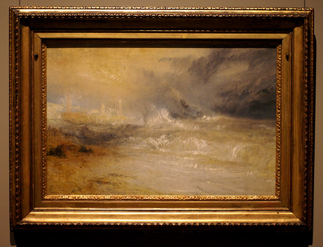 """Waves Breaking on a Lee Shore at Margate"""
