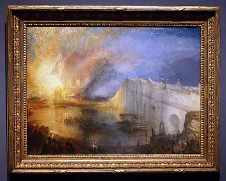 """The Burning of the Hose of Lords and Commons, 16th October, 1834"""