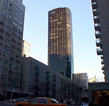 Low-rise buildings across 66th Street