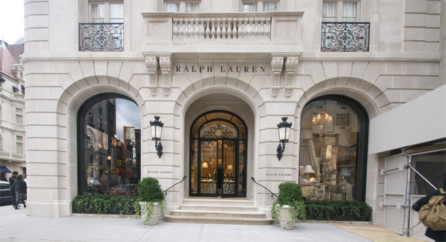 Style: The New Ralph Lauren store on Madison Avenue
