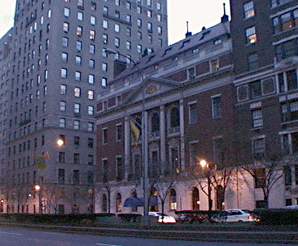 The Upper East Side Book: Park Avenue: the Colony Club at