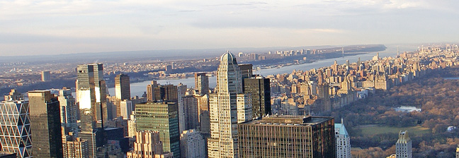 Upper West Side seen from the Top of the Rock