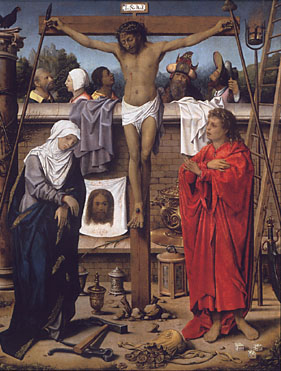 Crucifixion by Circle of the Master of the 1540s