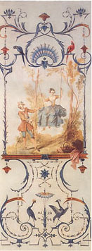 Decorative panel by Nicolas Lancret