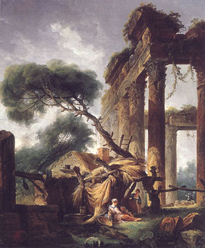 Ruins by Hubert Robert