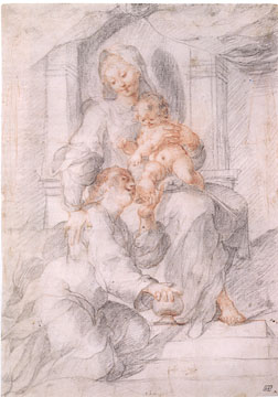 Madonna and Child with Mary Magdalen by Joseph Heintz the Elder