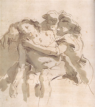 The Deposition by Giovanni Battista Tiepolo
