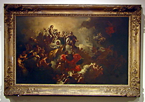 """Phaeton asking to drive the chariot of Apollo"" by Francesco Solimena"