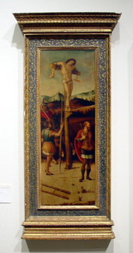 Crucified Thieves by Giovanni Bellini