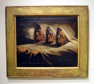 """The Three Witches"" by Henry Fuseli"