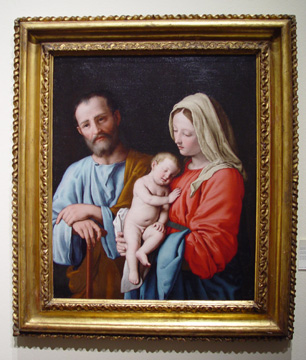 """The Holy Family"" by Il Sassoferrato"