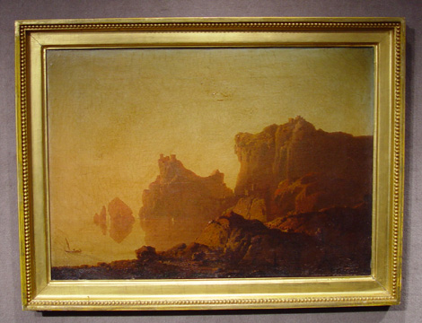 """The Gulf of Salerno"" by Joseph Wright of Derby"