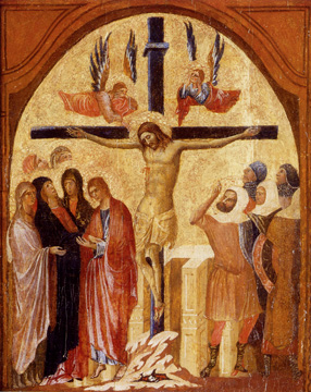 """The Crucifixion"" Venetian School"