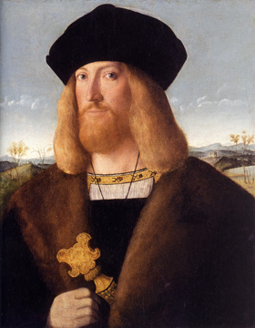 Portrait of a man by Bartolomeo Veneto