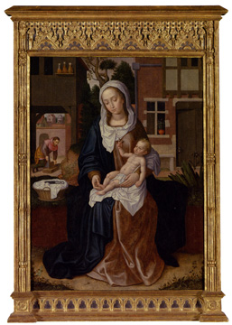 """Madonna and Child"" by Claeissins"