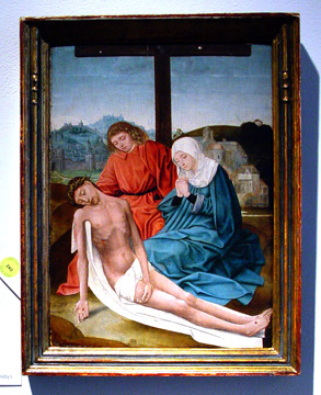 """Lamentation of Christ"" by the Master of Hoogstraten"