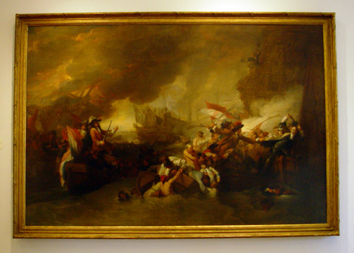 """The Battle of La Hogue"" by West"