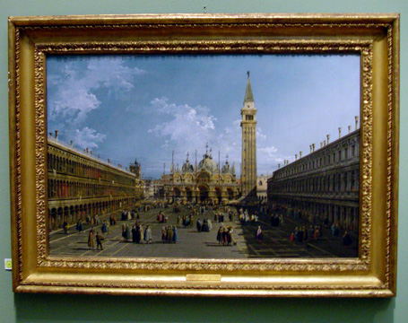 The Piazza San Marco by Bellotto