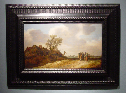 """Dune Landscape with Figures"" by van Goyen"