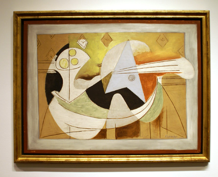 """Compotier et Guitar"" by Picasso"