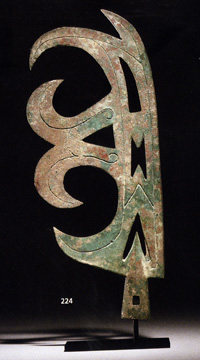 Zhou dynasty halberd or finial