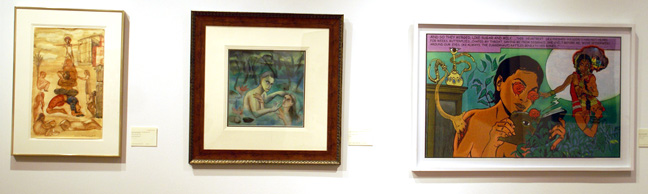 Works by Malini, Dodiya and Ganesh