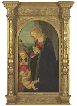 """Madonna and Child"" by the Masterof the Fiesole Epiphany"