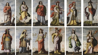 """Twelve Sibyls"" by Zurbaran"