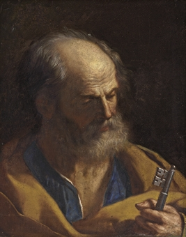 """Saint Peter"" by Guercino"