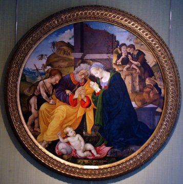"""The Holy Family"" by the Master of Memphis"