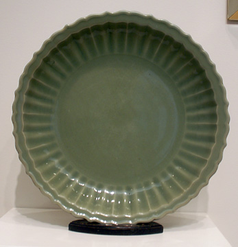 Celadon barbed dish
