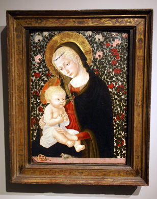 """Madonna and Child with Goldfinch"" by Pseudo Piero Francesco Fiorentino"