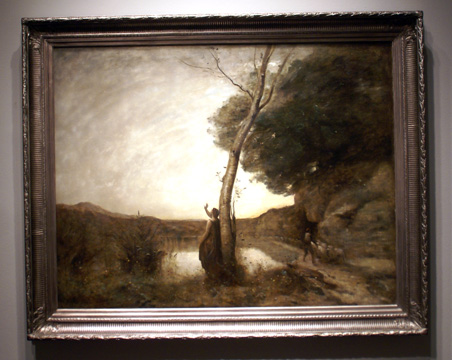 """The Evening Star"" by Corot"