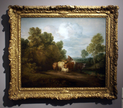"""Wooded landscape"" by Gainsborough"