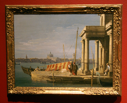 """The Quay of the Dogana, Venice"" by Canaletto"