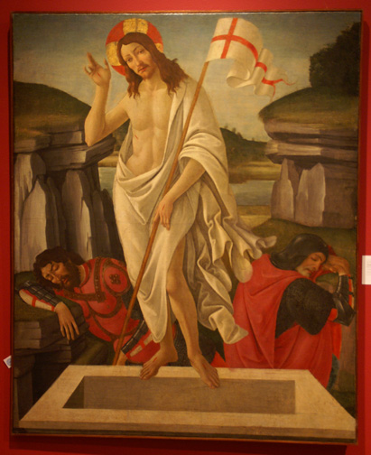 """The Resurrection"" by Botticelli"