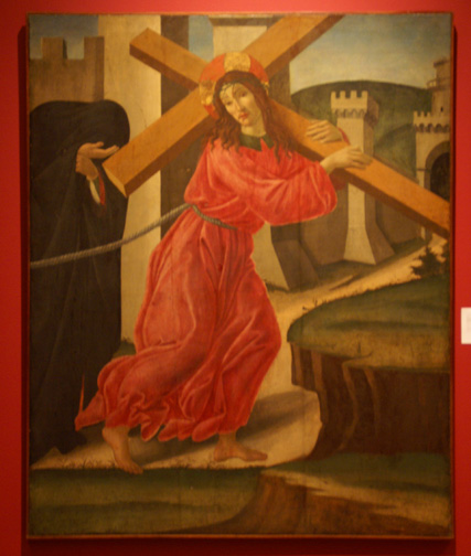 """Christ Carrying The Cross"" by Botticelli"