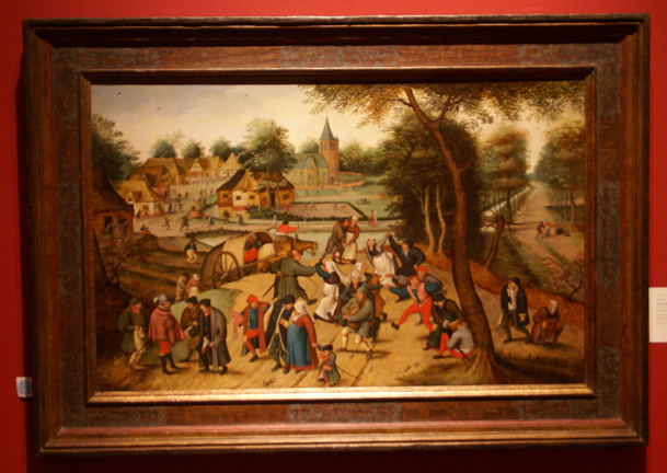 Return from the Kermesse by Pieter Brueghel