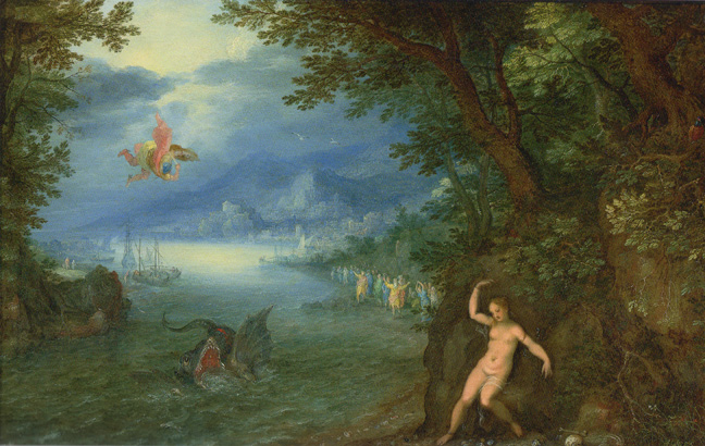"""Perseus and Andromeda"" by Brueghel and Rottenhammer"