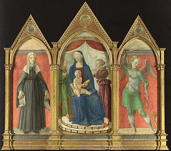 Altarpiece by the Master of Pratovecchio